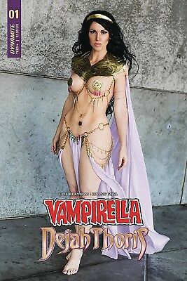 Vampirella Dejah Thoris #1 Cover F Dejah Thoris Cosplay