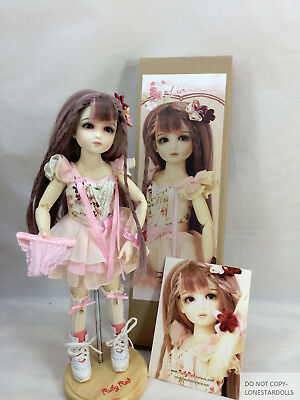 "Lia, Ruby Red Galleria Cherry Blossoms Fairy, LE 40 12"" In Motion Girl Doll New!"