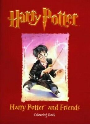 Harry Potter and Friends Colouring Book by Rowling, J. K. Paperback Book The