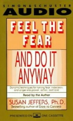 Feel the Fear and Do it Anyway by Jeffers, Susan CD-Audio Book The Cheap Fast