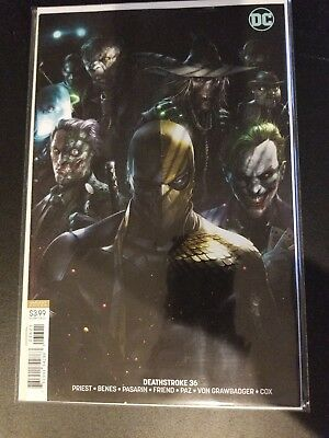 Deathstroke #36 Mattina Cover B Sold Out