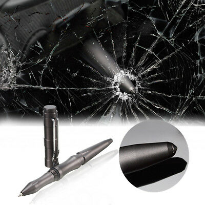 Self Defense Personal Safety Tactical Pen Pencil Tungsten Steel Head Glass