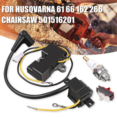OEM Ignition Coil Module Kit For Husqvarna 61 66 162 266 Chainsaw 501516201 new