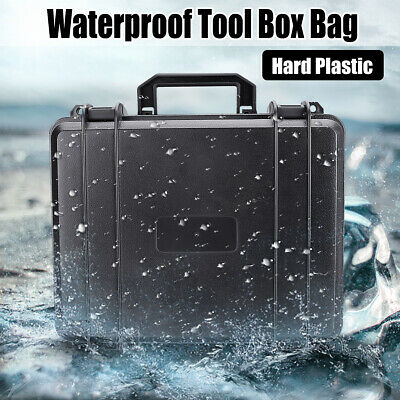 Waterproof Shockproof Tool Box Hard ABS Case Cabinet Storage Portable