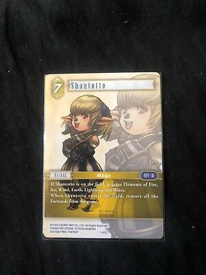 Shantotto 1-107L Legendary Opus 1 (Final Fantasy Trading Card Game)