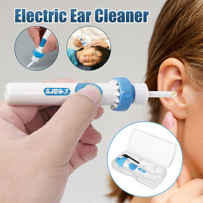 Safety Electric Cordless Vacuum Ear Cleaner Cleaning Wax Remover Painless