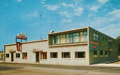 Wing's Inn Cafe & Bar Madison Wisconsin Vintage Postcard Unposted