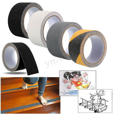 5cm x 3m Floor Safety Non Skid Tape Roll Anti Slip Adhesive Stickers High