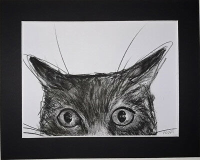 ORIGINAL ART DRAWING * CHARCOAL on  paper * POUNCE