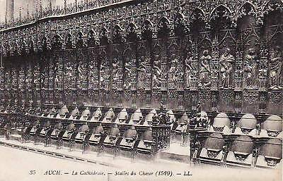 32 AUCH cathedrale stalles du coeur