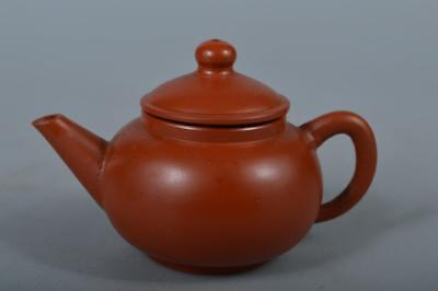R6200: Japanese Tokoname-ware Brown pottery TEAPOT Kyusu Sencha Tea Ceremony