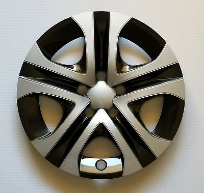 """One New Wheel Cover Hubcap Fits 2013-2018 Toyota RAV4 LE 17"""" Silver / Black"""