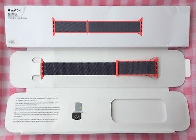 Electric Pink 42mm Apple Watch Sport Loop band (Genuine/Authentic/OEM) NEW