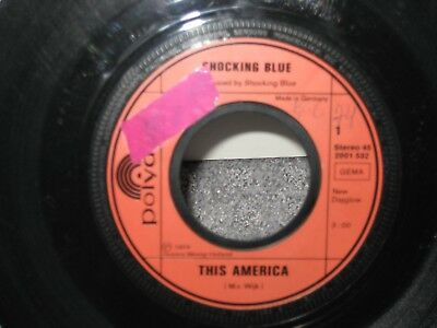 "Single The Shocking Blue ""This America/I won´t be lonely long"""