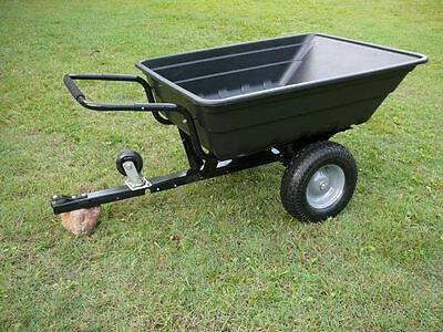 Large Garden Tipper Trailer / Cart / Barrow for Ride-On Mowers / ATV's