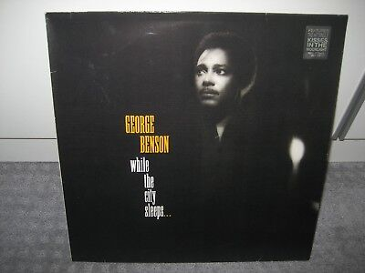 "LP George Benson ""While the City sleeps..."" (Warner Bros.), Soul der 80er!"