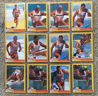 Uncle Tobys - Super Series Baywatch - 12 Card Lot