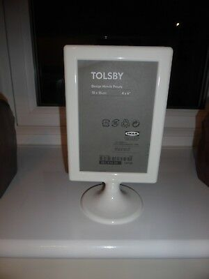 6 X Ikea Tolsby Double Sided White Picture Frame For 2 Photos Free