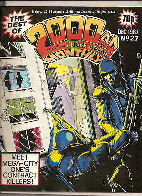 THE BEST OF 2000AD MONTHLY FEATURING JUDGE DREDD No.27,DEC 1987