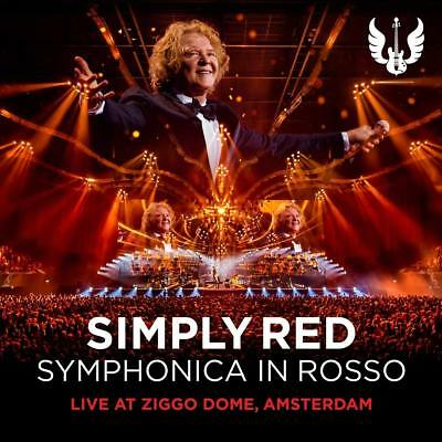 SIMPLY RED 'SYMPHONICA IN ROSSO' (Live at Ziggo Dome Amsterdam) CD + DVD (2018)