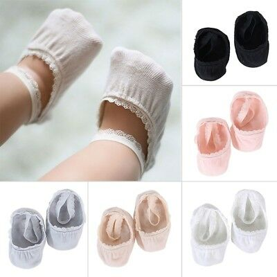 1 Pair Baby Boy Girl Lace Cotton Socks Newborn Toddler Kids Anti Slip Ankle Sock