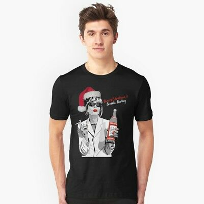 What Would Patsy Do? Sweetie, Darling Patsy Stone Merry Christmas Black T-Shirt