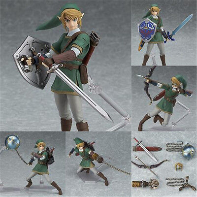 The Legend of Zelda: Twilight Princess Link Figure Figma 320 Model Toy in Box