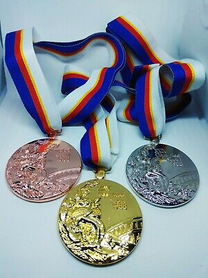 SEOUL 1988 MEDAL Olympic Replica FULL SET - gold/silver/bronze