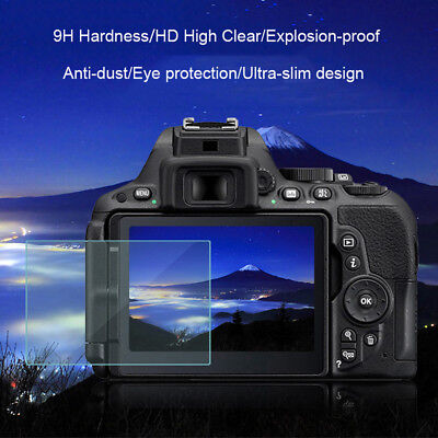 9H Tempered Glass Film HD Camera Screen Protector for Canon 6D 650D 1200D Ageles