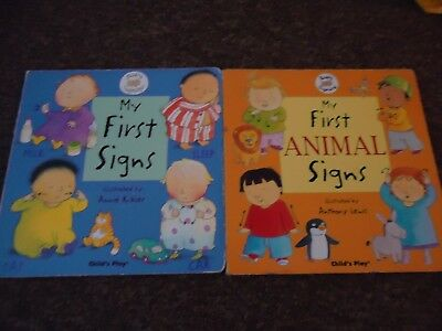 Childs Play 2 Baby Sign language Great fun Books