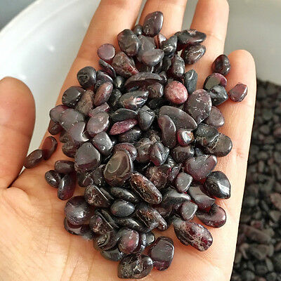 50g Natural Wine Red Garnet Crystal Stone Rock Specimen Reiki Mineral Home Decor