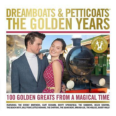 DREAMBOATS & PETTICOATS : THE GOLDEN YEARS (Various Artists) 4 CD SET (2018)