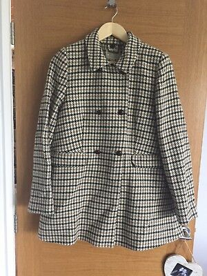 Gorgeous Jack Wills Double Breasted Swing Coat Size 10
