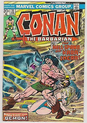 Conan The Barbarian #35, Very Fine Condition'
