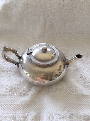Silver Plated Robur 'Perfect' Tea Pot With Strainer Insert
