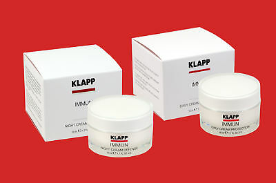 KLAPP IMMUN je 1x DAILY und 1x NIGHT CREAM 50ml als Set