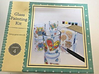 Glass painting kit, Ideal Christmas Gift *Free Post*