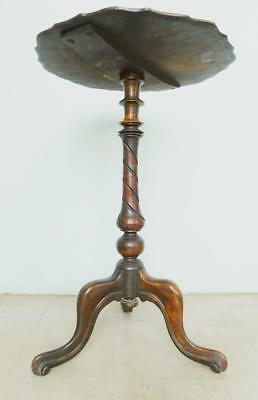 Stunning Edwardian solid Mahogany Wine Occasional Table  Pick Up Hawthorn VIC