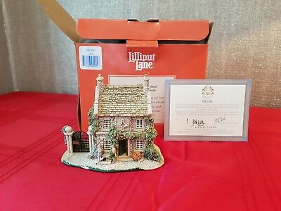 Lilliput Lane - Sore Paws - English Collection: North - boxed+deeds