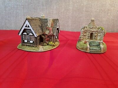 Lilliput Lane - Russian Cottage and The Cascade House - boxed