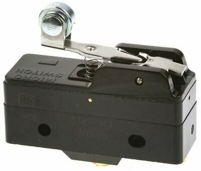 SPDT-NO/NC Short Roller Lever Microswitch, 15 A @ 125 V ac