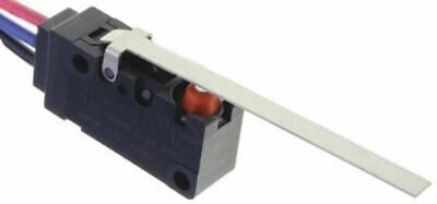 SPDT-NO/NC Long Hinge Lever Microswitch, 100 mA @ 30 V dc