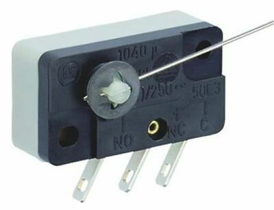 SPDT Lever Microswitch, 4 A @ 250 V ac