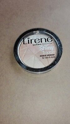 LINENE ,Shiny Touch,minéral Shimmer for face &eyes,highlighter