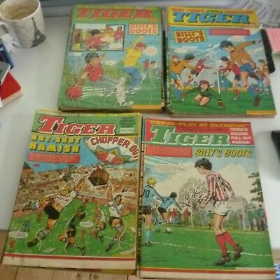 39 x Tiger comics From 1983
