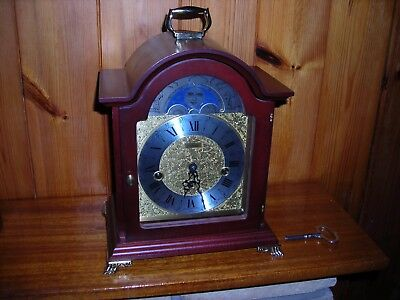 Hermle bracket clock Westminster chimes