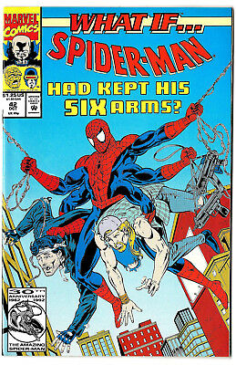 WHAT IF # 42 (2nd series) 1992 Marvel (vf-) Spider-Man / Venom Cameo