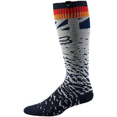 WMN MX SOCK [GRY/ORG] OS GRY/ORG One Size