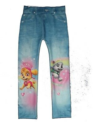 bnwt girls paw patrol leggings jeggings 2,3,4,5 yrs