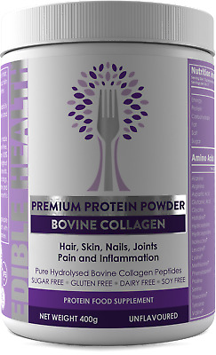 Edible Health Hydrolysed Collagen Protein Peptides Powder for Stronger Bones